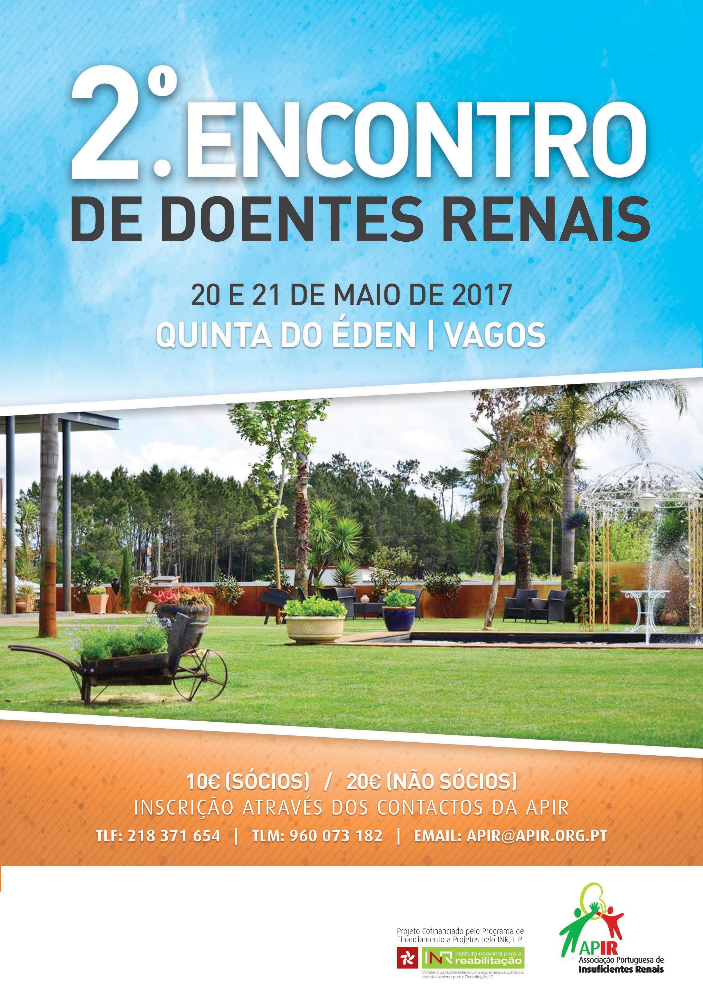 Cartaz 2.º Encontro de Doentes Renais - VAGOS