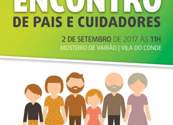 Cartaz 2.º Encontro de Pais e Cuidadores